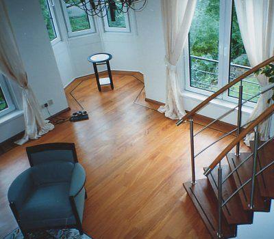 Mooie massieve houten vloer