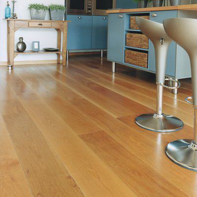 Massief houten vloer woonkamer