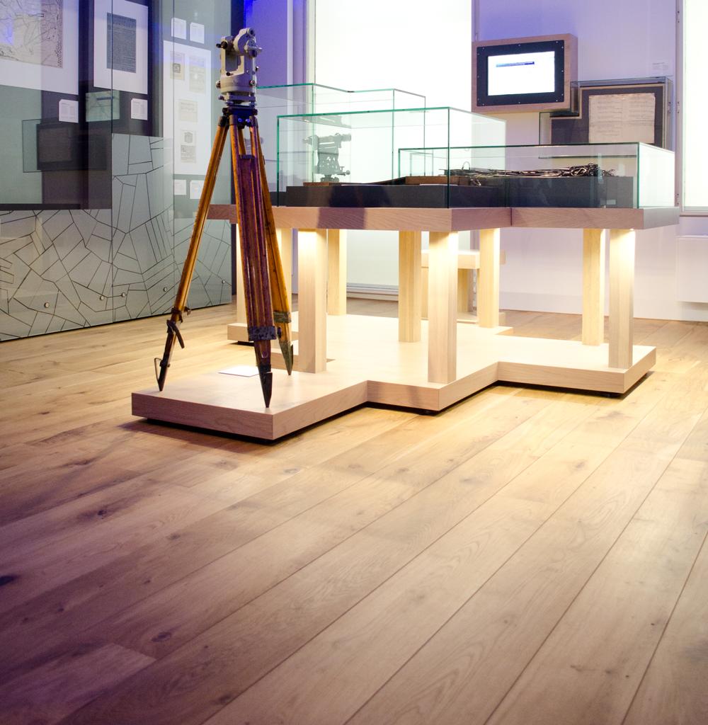 Massief houten vloer