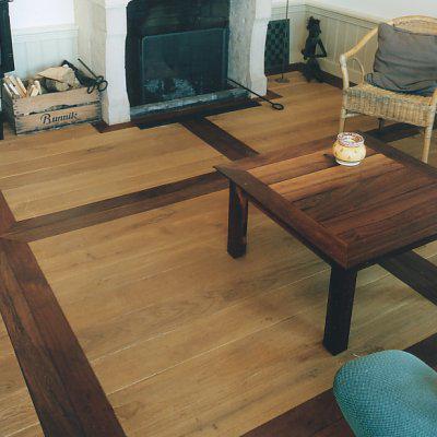 Massief houten vloer woning